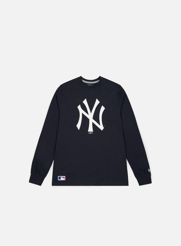 New Era Team Apparel LS T-shirt New York Yankees