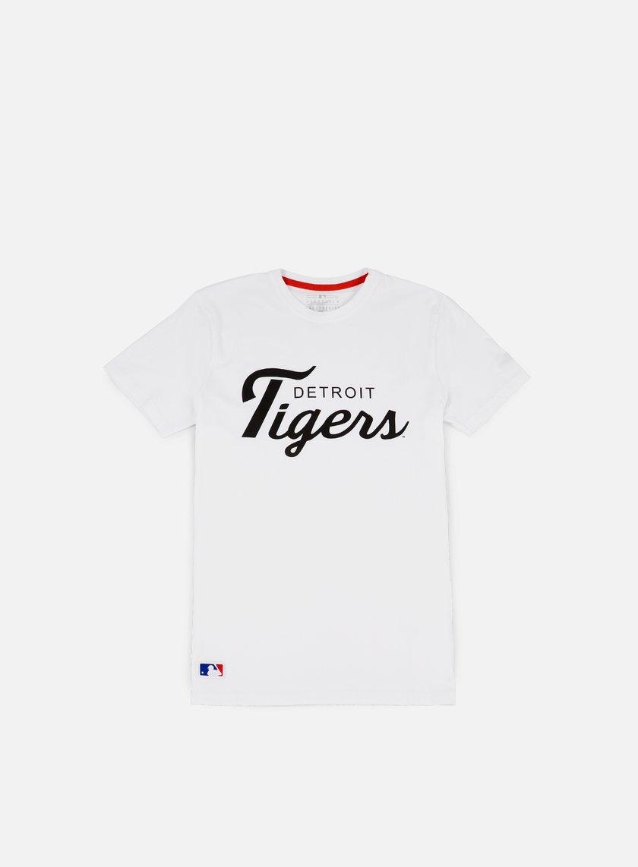 New Era - Team Apparel T-shirt Detroit Tigers, White