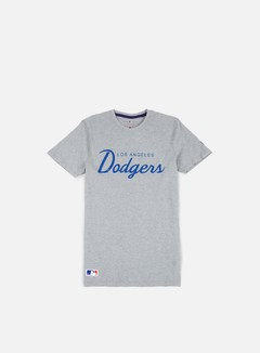 New Era - Team Apparel T-shirt LA Dodgers, Light Grey Heather 1