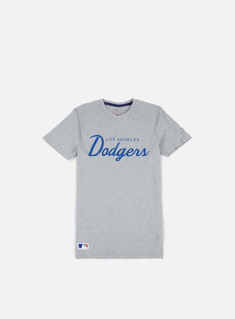 t shirt new era team apparel t shirt la dodgers light grey heather