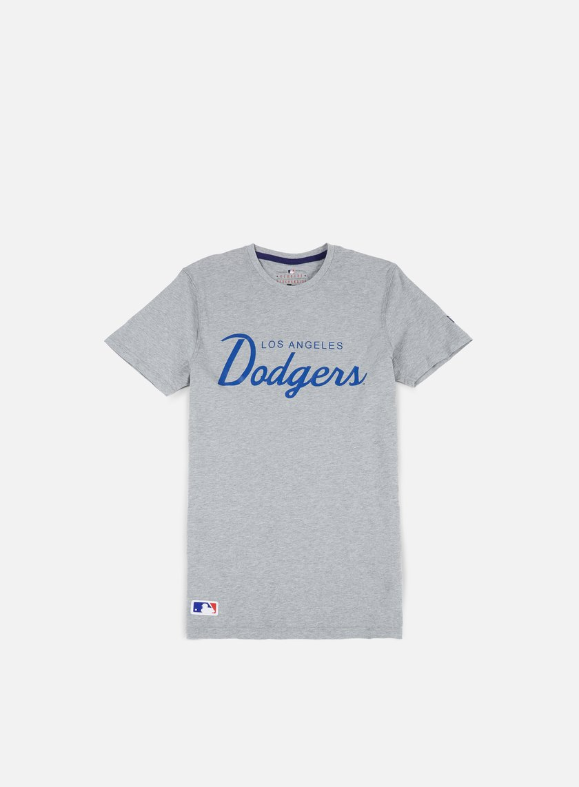 New Era - Team Apparel T-shirt LA Dodgers, Light Grey Heather