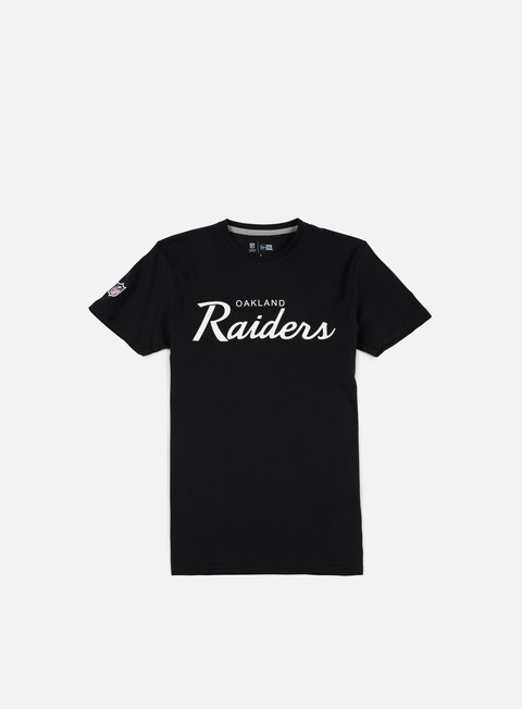 t shirt new era team apparel t shirt oakland raiders black