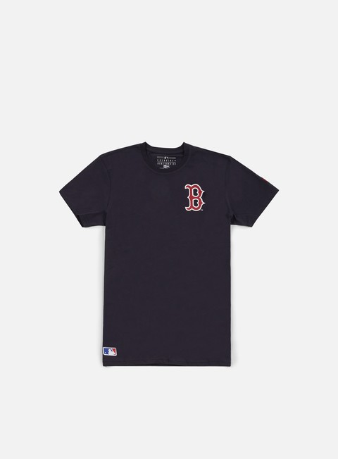 Sale Outlet Short Sleeve T-shirts New Era Team Banner T-shirt Boston Red Socks