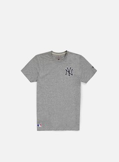 New Era - Team Banner T-shirt NY Yankees, Light Grey Heather 1