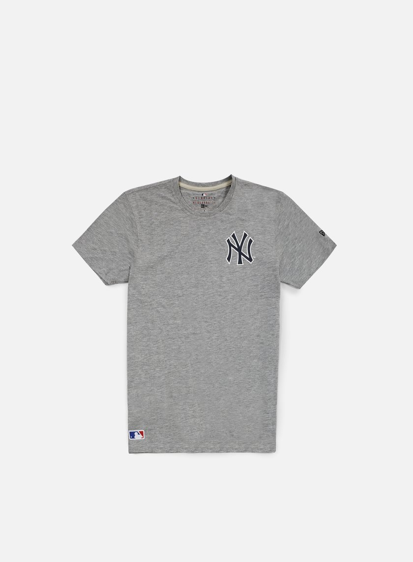 New Era - Team Banner T-shirt NY Yankees, Light Grey Heather