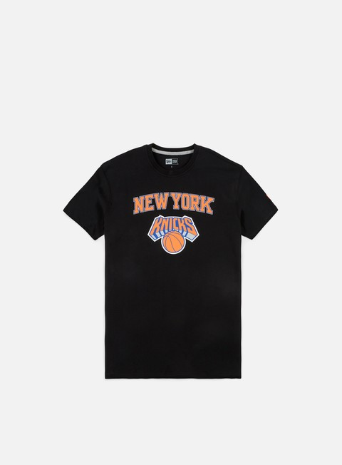t shirt new era team logo t shirt new york knicks black