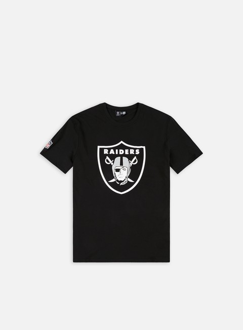 Outlet e Saldi T-shirt a Manica Corta New Era Team Logo T-shirt Oakland Raiders