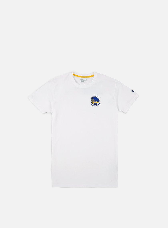 New Era Tip Off Chest N Back T-shirt Golden State Warriors