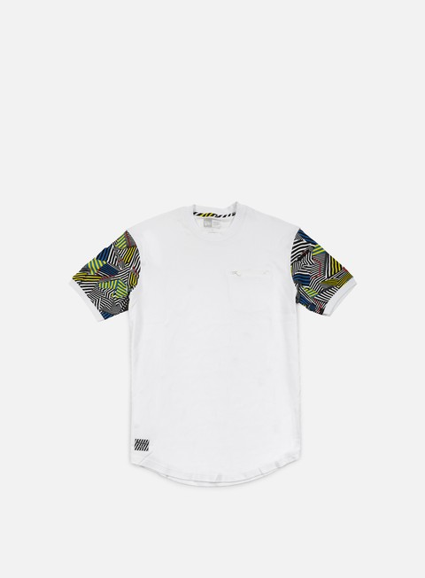 t shirt new era walala long line t shirt white