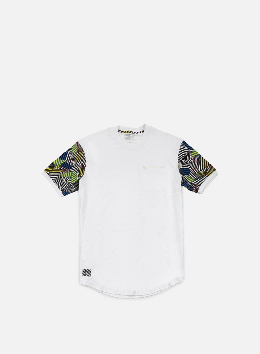 New Era - Walala Long Line T-shirt, White