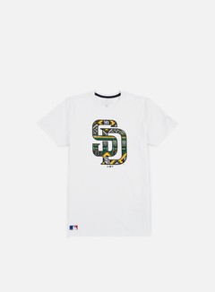 New Era - West Coast Logo T-shirt San Diego Padres,White 1
