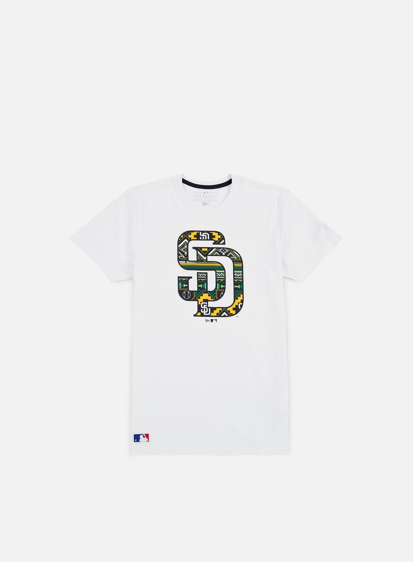 New Era - West Coast Logo T-shirt San Diego Padres,White
