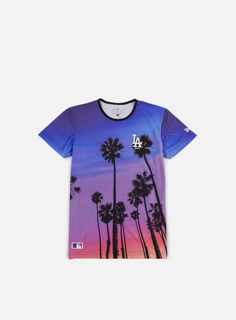 Short Sleeve T-shirts New Era West Coast T-shirt LA Dodgers