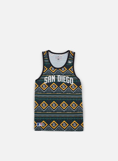 t shirt new era west coast tank top san diego padres multicolor