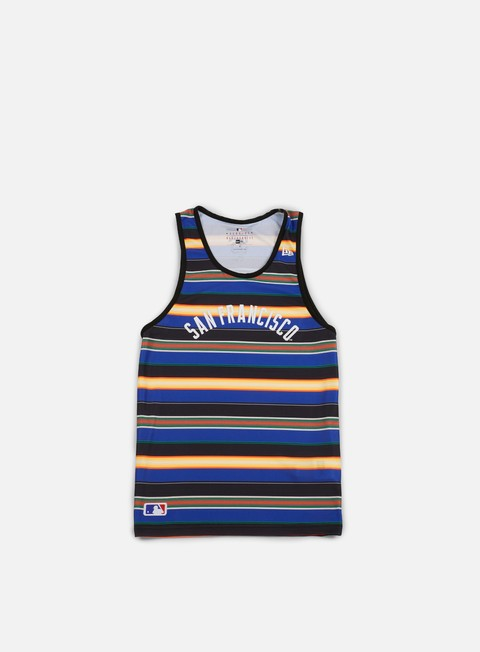 Outlet e Saldi Canotte New Era West Coast Tank Top San Francisco Giants