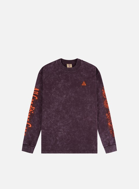 Long Sleeve T-shirts Nike ACG NRG Earth LS T-shirt