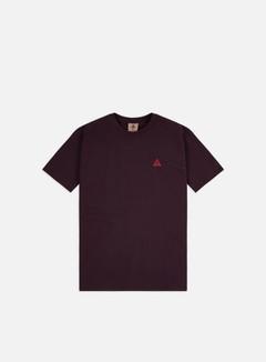 Nike - ACG NRG Embr T-shirt, Deep Burgundy/Team Orange