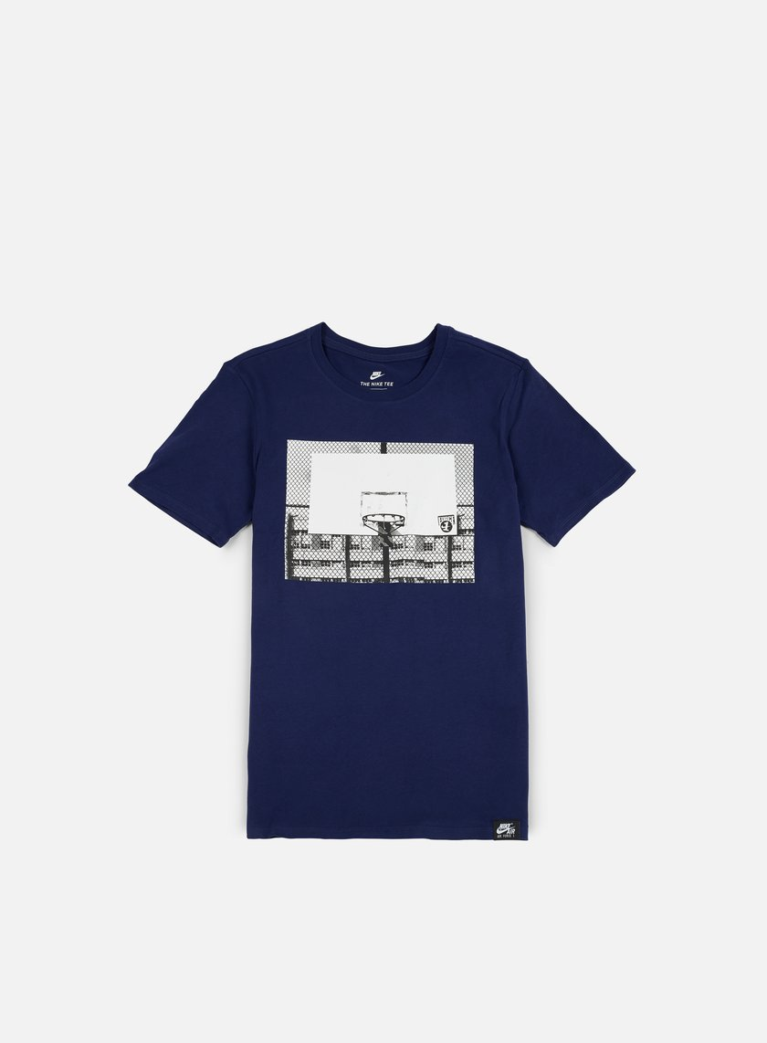 Nike - AF 1 Photo T-shirt, Binary Blue/Electrolime