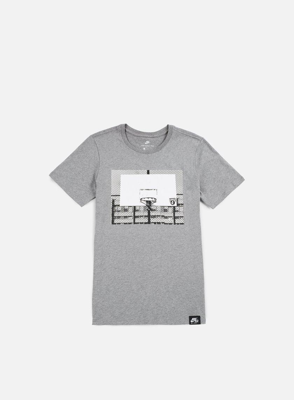 Nike - AF 1 Photo T-shirt, Carbon Heather/White