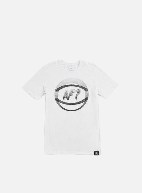 t shirt nike af1 ball art t shirt white black