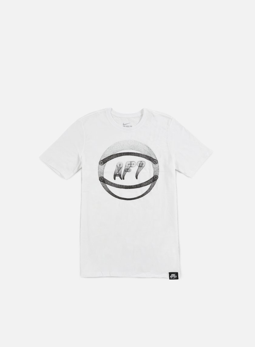 Nike - AF1 Ball Art T-shirt, White/Black