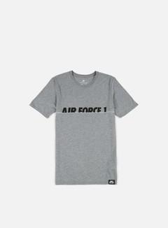 Nike - AF1 Brand T-shirt, Carbon Heather/Black