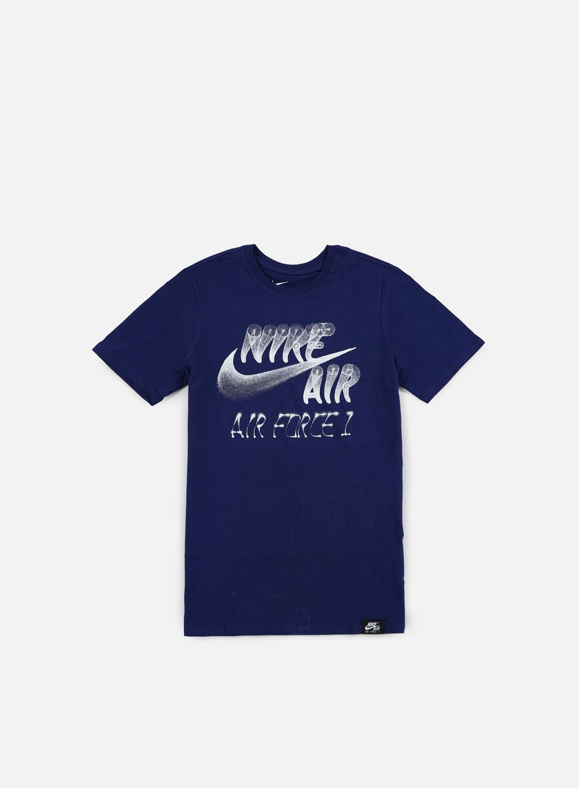 Nike - AF1 Nike Air T-shirt, Deep Royal Blue/White