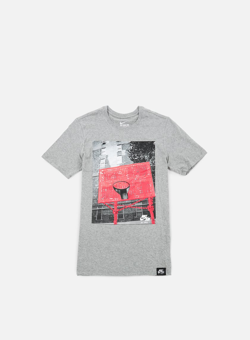 Nike - AF1 Photo Rostarr T-shirt, Dark Grey Heather