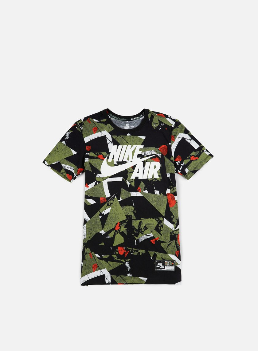 nike air aop t shirt 1 white palm green 35 00 834575 102 t shirts short sleeve graffitishop. Black Bedroom Furniture Sets. Home Design Ideas