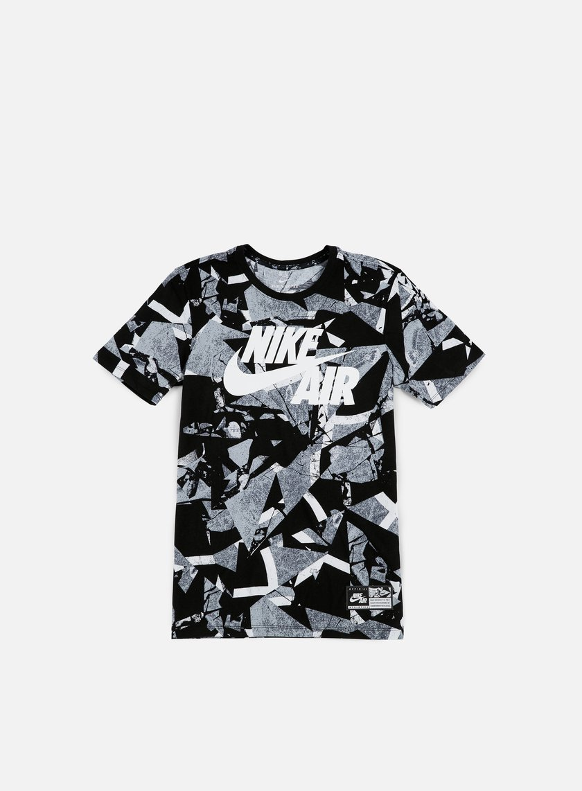 Nike - Air AOP T-shirt 1, White/Pure Platinum
