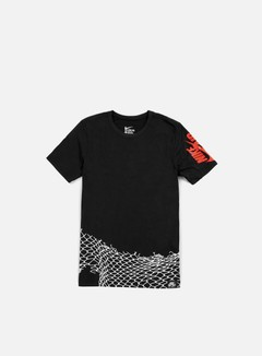 Nike - Air Chain Fence T-shirt, Black/Light Crimson