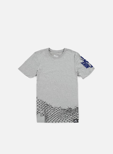 t shirt nike air chain fence t shirt dark grey heather deep royal blue