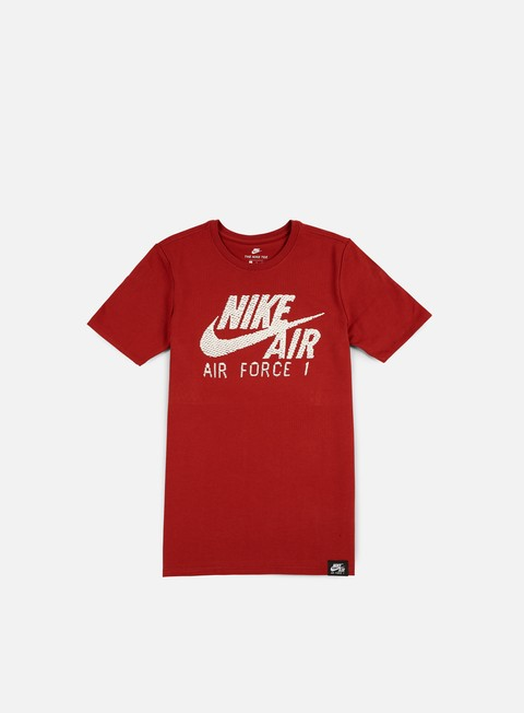 t shirt nike air force 1 t shirt dark cayenne dark cayenne white