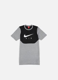 Nike - Air Hybrid T-Shirt, Carbon Heather/White 1