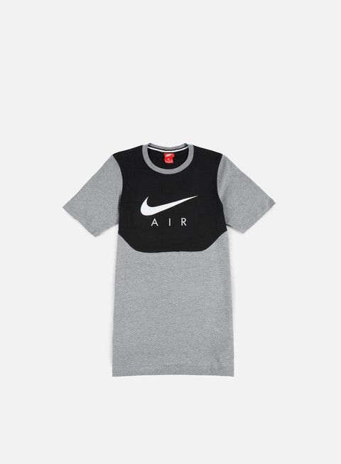 t shirt nike air hybrid t shirt carbon heather white