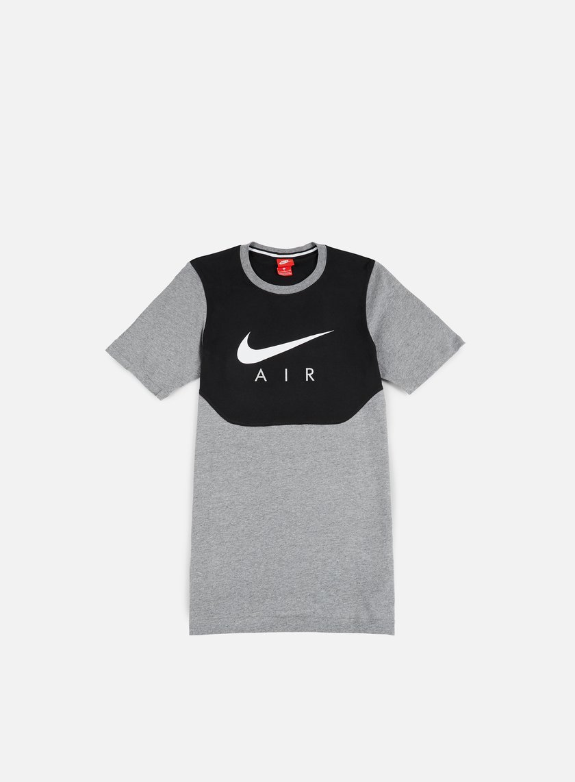 ... Nike - Air Hybrid T-Shirt, Carbon Heather/White 1 ...