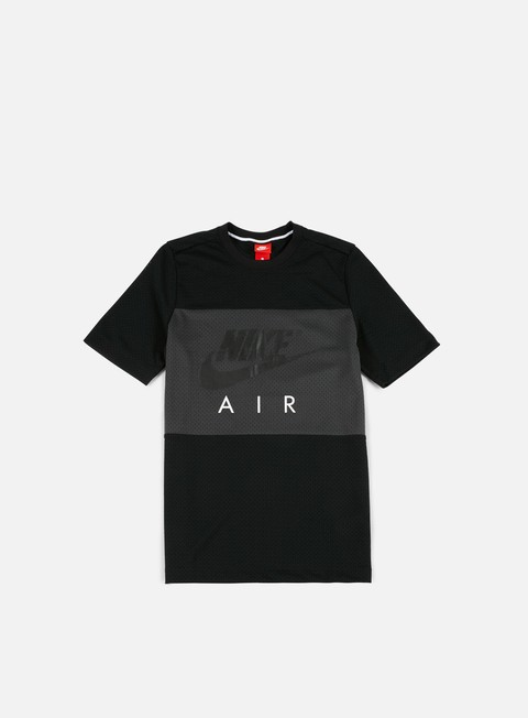 t shirt nike air mesh t shirt black anthracite
