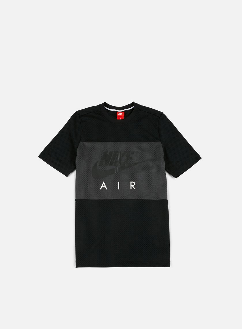 Nike - Air Mesh T-shirt, Black/Anthracite