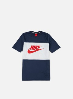 Nike - Air Mesh T-shirt, Thunder Blue/University Red