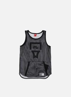Nike - Air Pivot V3 Mesh Jersey, Black/Black/White 1