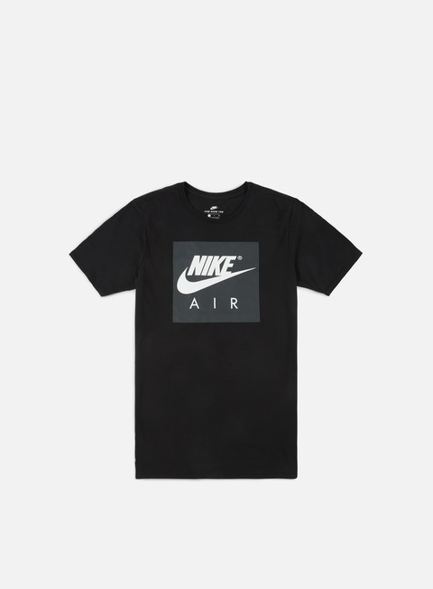 t shirt nike air sport crew t shirt black white