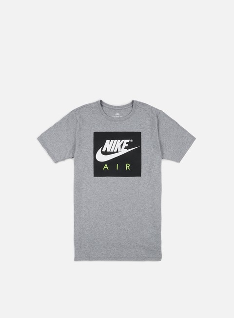 t shirt nike air sport crew t shirt carbon heather white