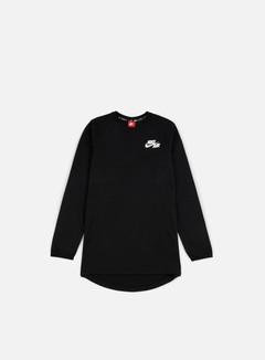 Nike - Air Top LS T-shirt, Black/White 1