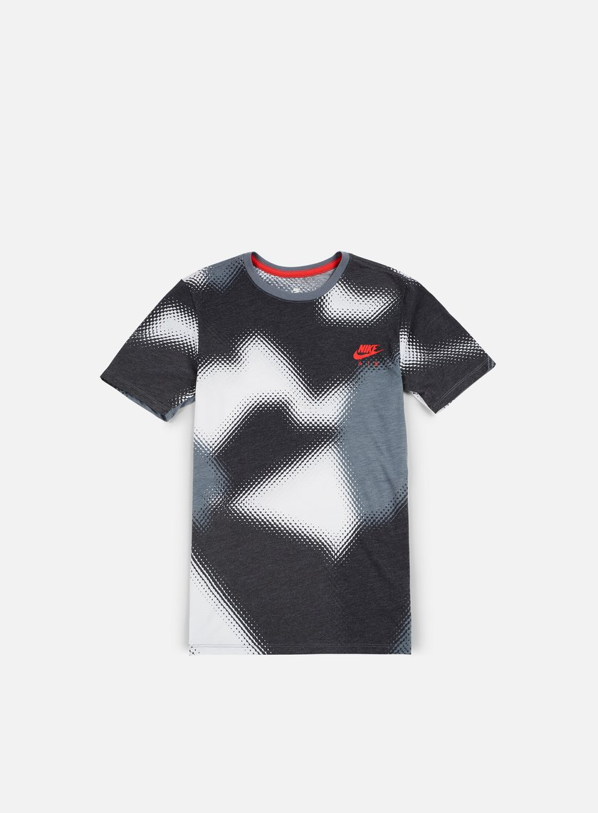 Nike - AOP Air Max 90 T-shirt, Anthracite/Red/White