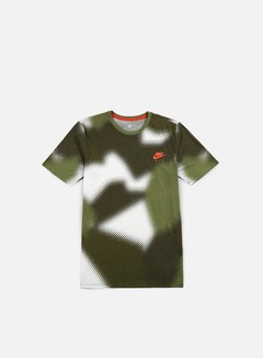 Nike - AOP Air Max 90 T-shirt, White/Max Orange