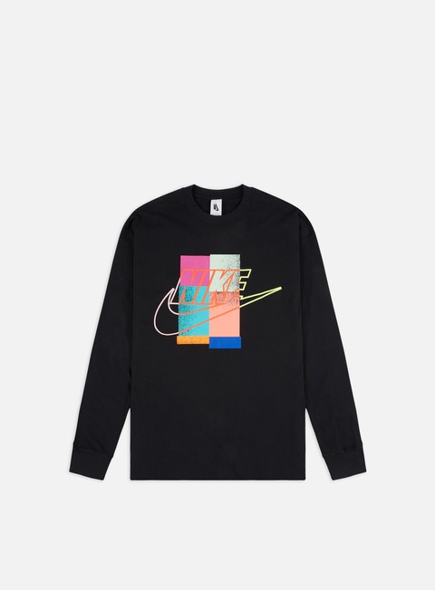 Outlet e Saldi T-shirt Logo Nike Atmos LS T-shirt