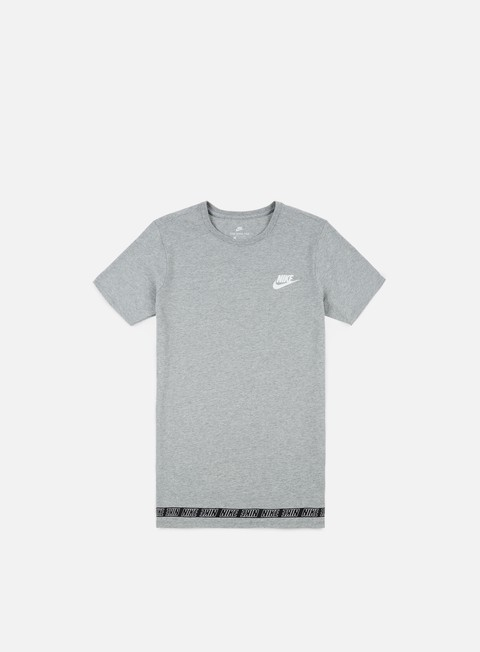 t shirt nike av15 drop t shirt dark grey heather white