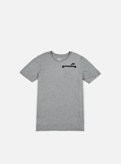 Nike - Badlands Pocket T-shirt, Carbon Heather/Black 1