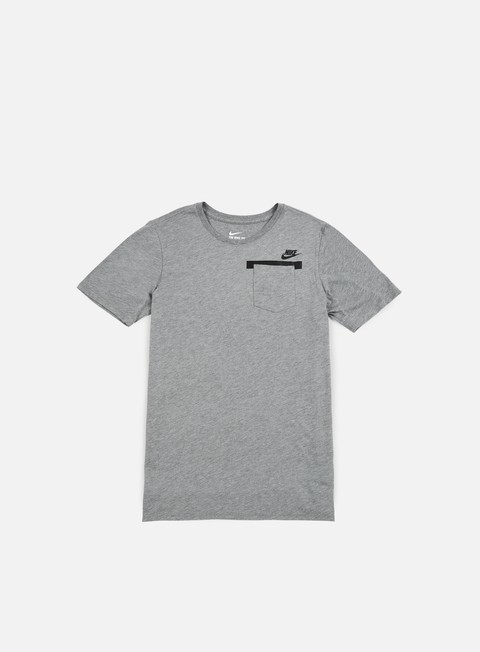 t shirt nike badlands pocket t shirt carbon heather black