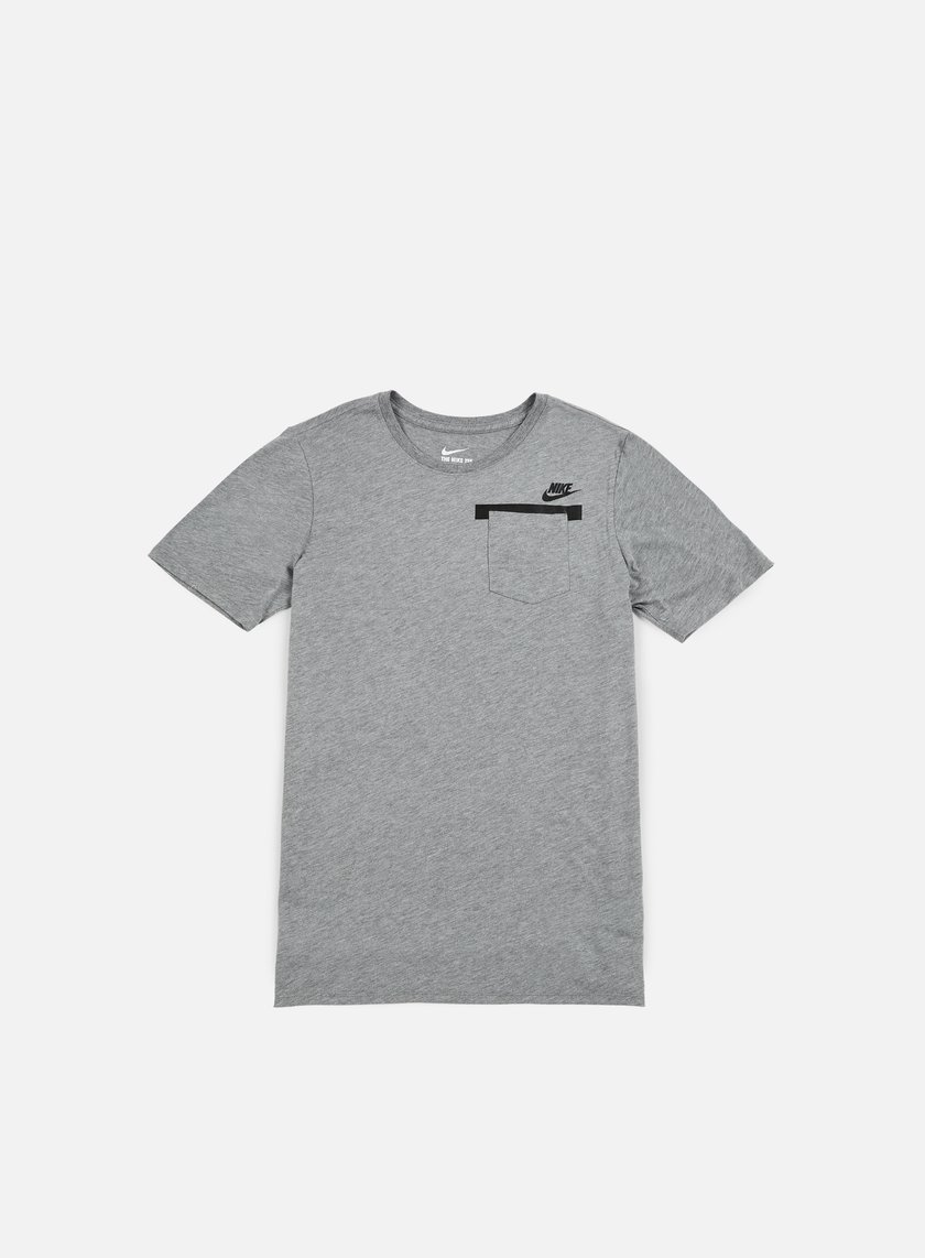 Nike - Badlands Pocket T-shirt, Carbon Heather/Black